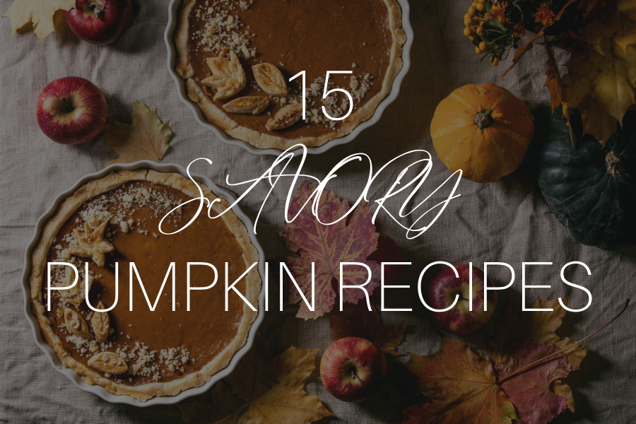 15 Savory Pumpkin Recipes