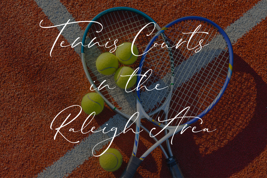Tennis Courts in the Raleigh Area